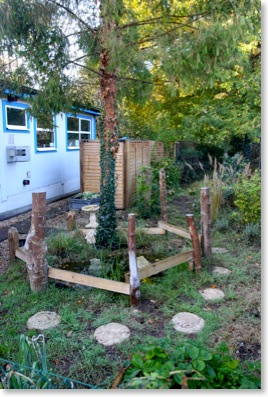 Ashridge Nursery's nature garden